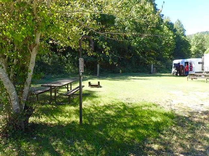 Steel Creek Horse Camp Site #32