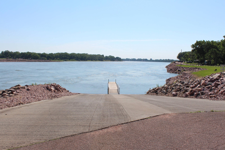Nebraska Tailwaters boat ramp