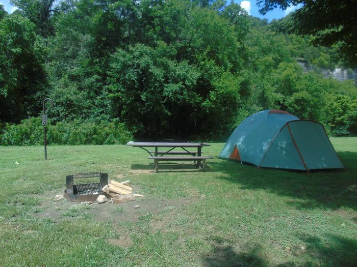 Steel Creek Camp Site #9