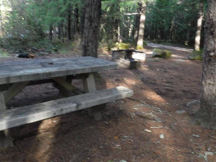 Toketee Lake Campground B 02