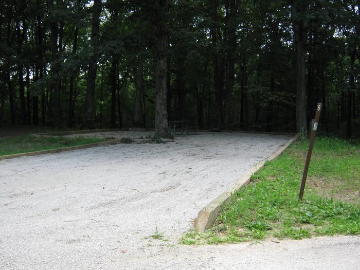 Site 6 Driveway