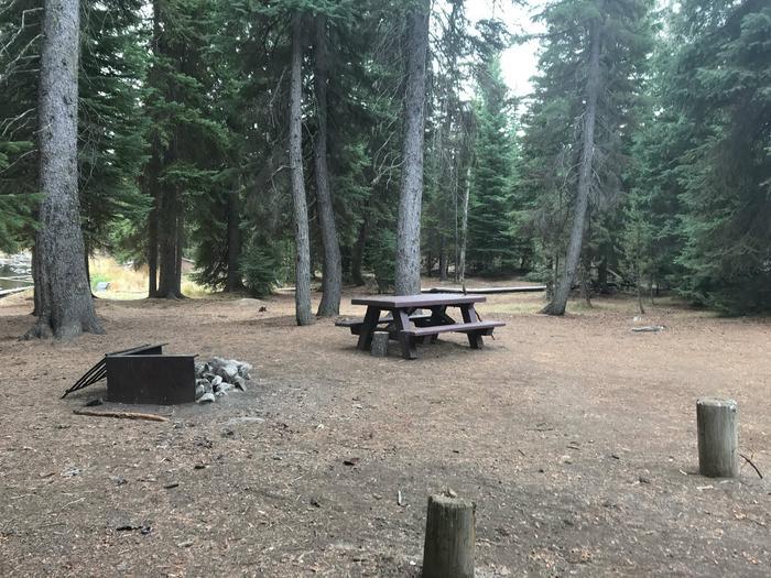 Little Lava Lake CampgroundSite 3