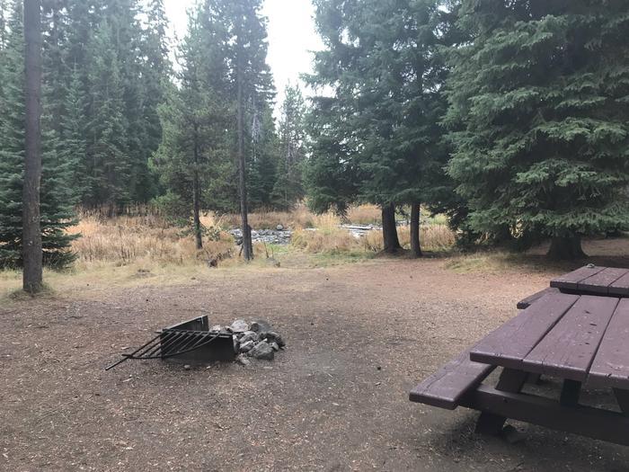 Little Lava Lake CampgroundSite 5