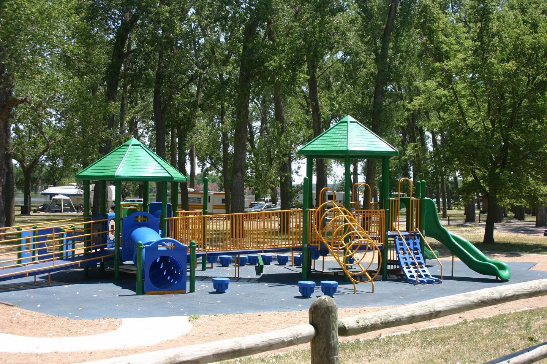 Playground at Cottonwood Campground