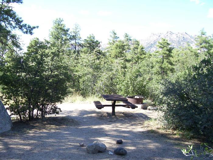 Yavapai Campground Site 4