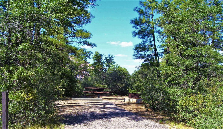 Yavapai Campground Site 10