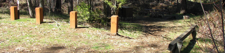 Lost Claim Camprgound Site #3Lost Claim Campground Site #3