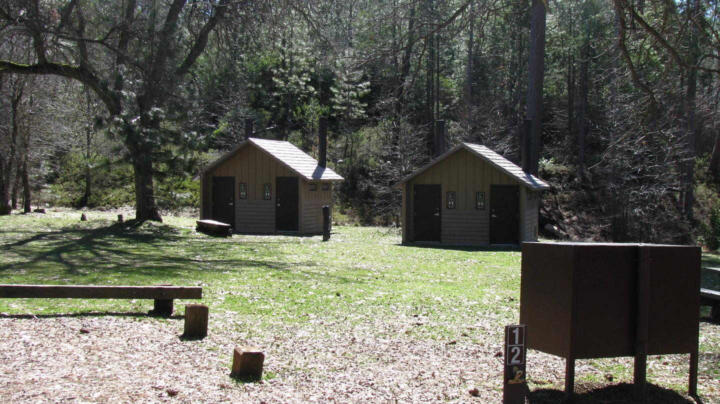 The Pines Campground Vault Toilets