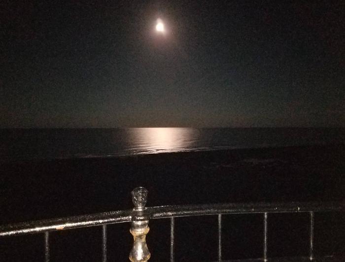 Cape Hatteras Lighthouse - Full Moon