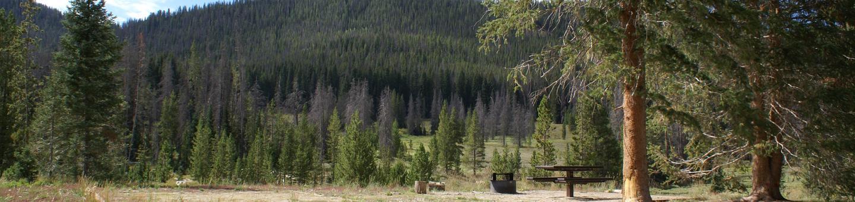 Hahns Peak Lake, Lake Loop, campsite 2