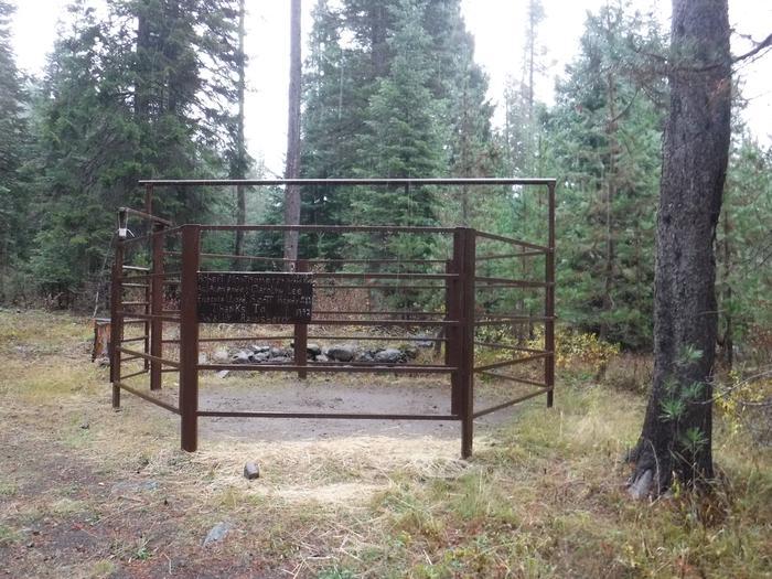 Corral at B2Kelsay Valley Horse Camp