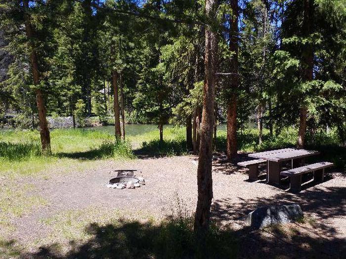 Hunter Peak Campsite 4 Water View