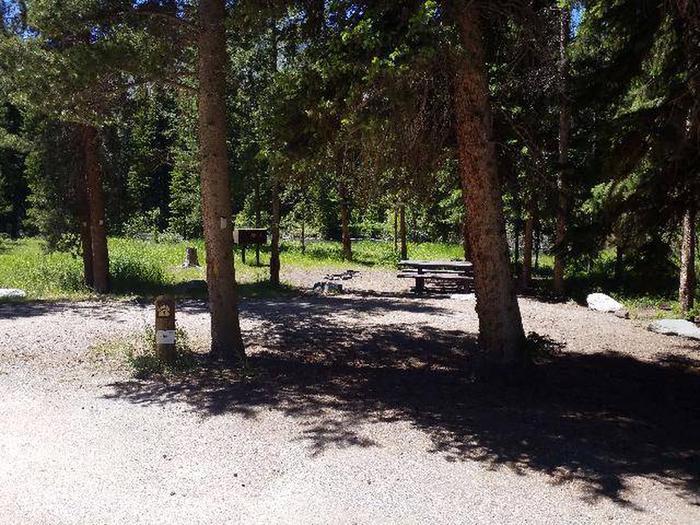Hunter Peak Campsite 4 Front