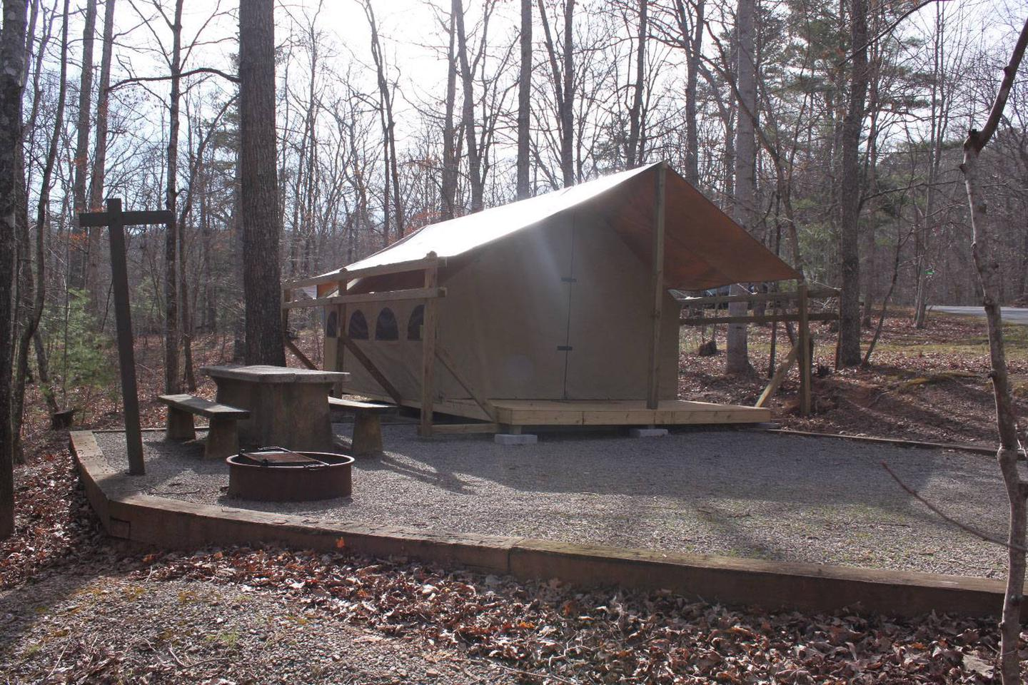 Lake Powhatan Glamping SitesGlamping Sites - new for 2019!