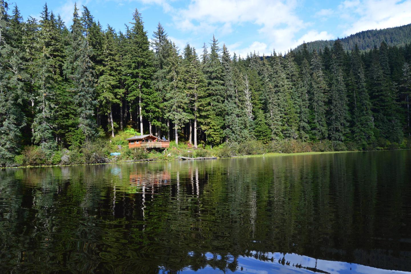 View from the lake