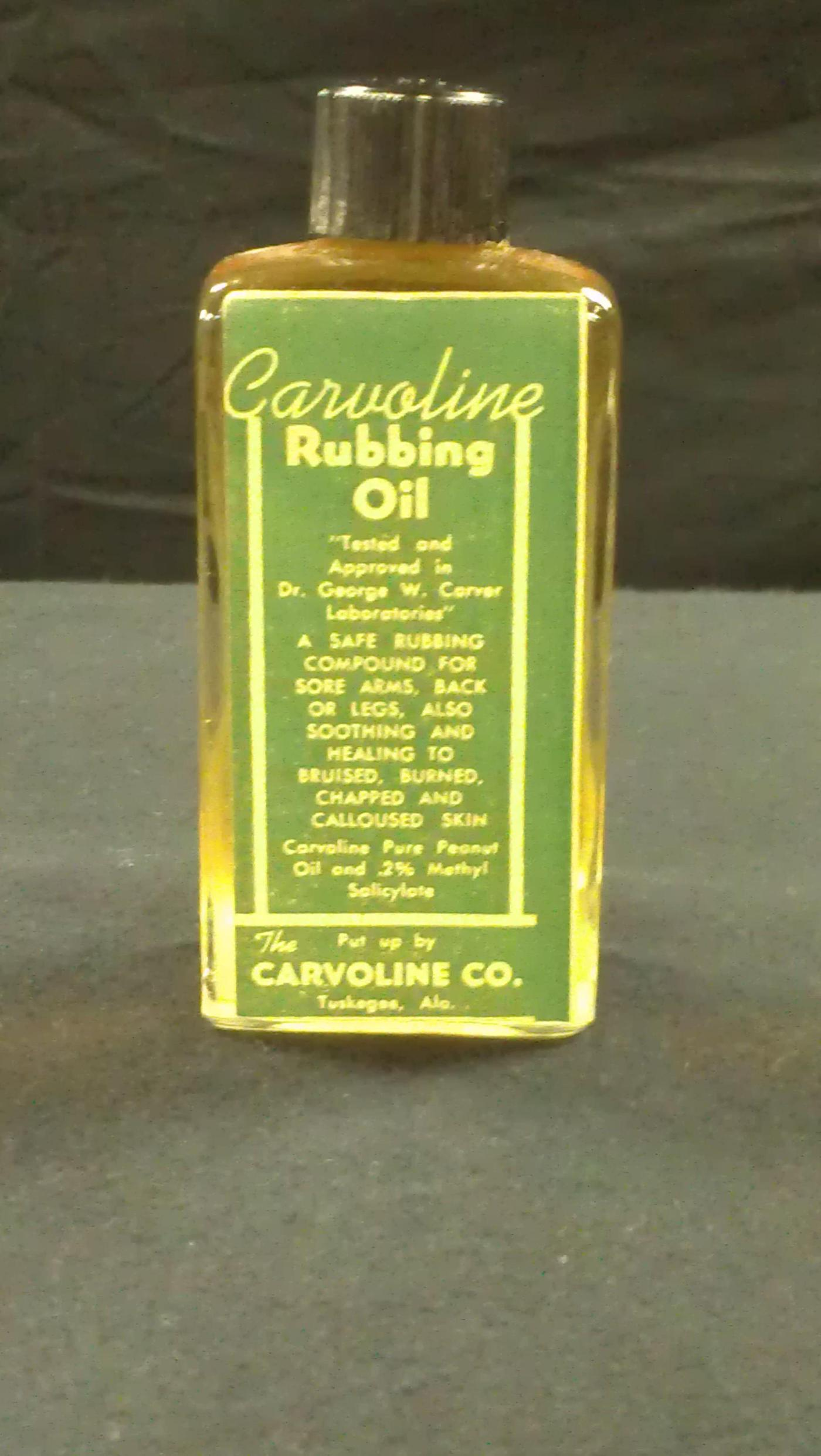 Carver's Peanut OilHundreds flocked to Tuskegee for polio treatment using George W. Carver's peanut oil