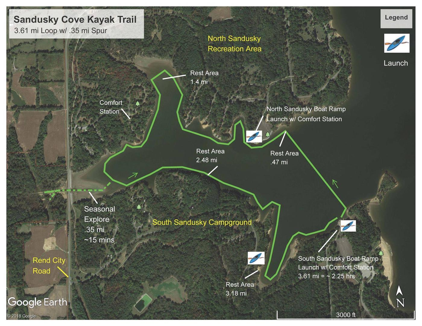 Sandusky Cove Kayak Trail