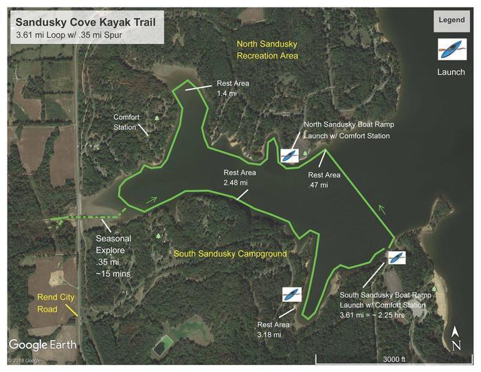 Sandusky Cove Kayak Trail