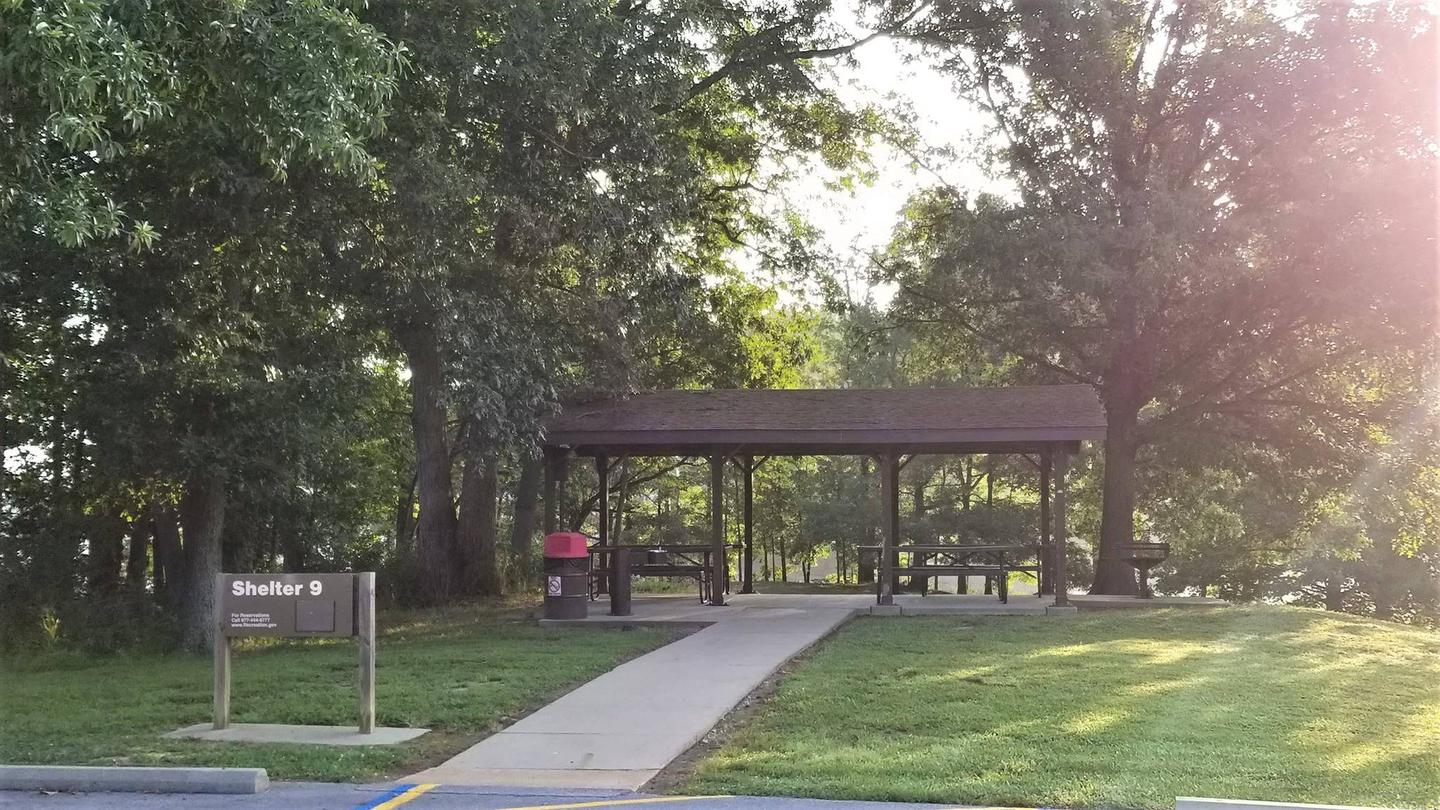 Shelter 9, South Marcum Day Use