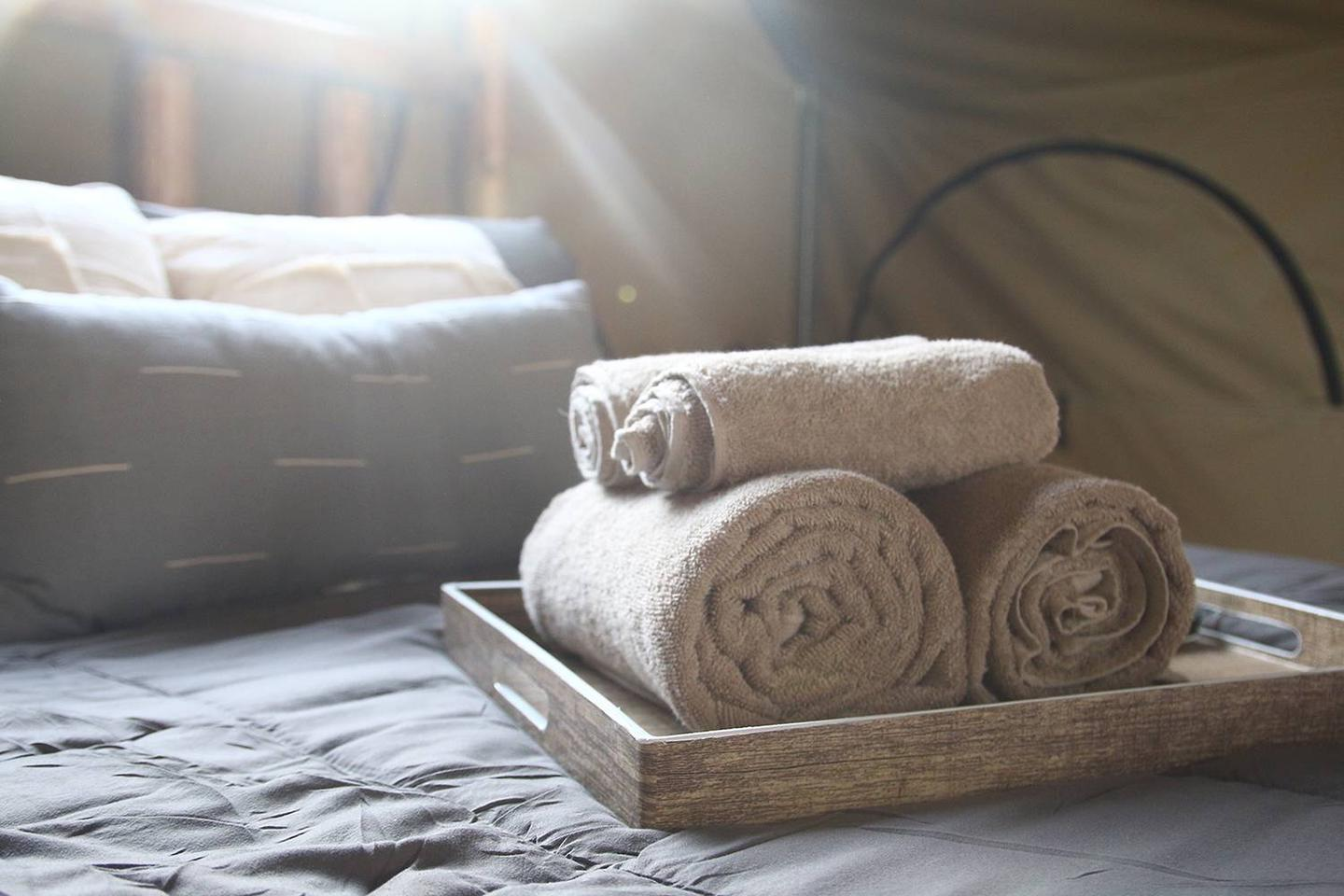Glamping Towels