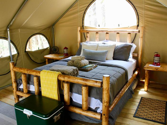 Preview photo of Lake Powhatan Glamping
