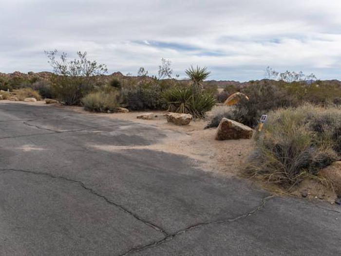 Cottonwood Site A-1 Parking SpotBeautiful views