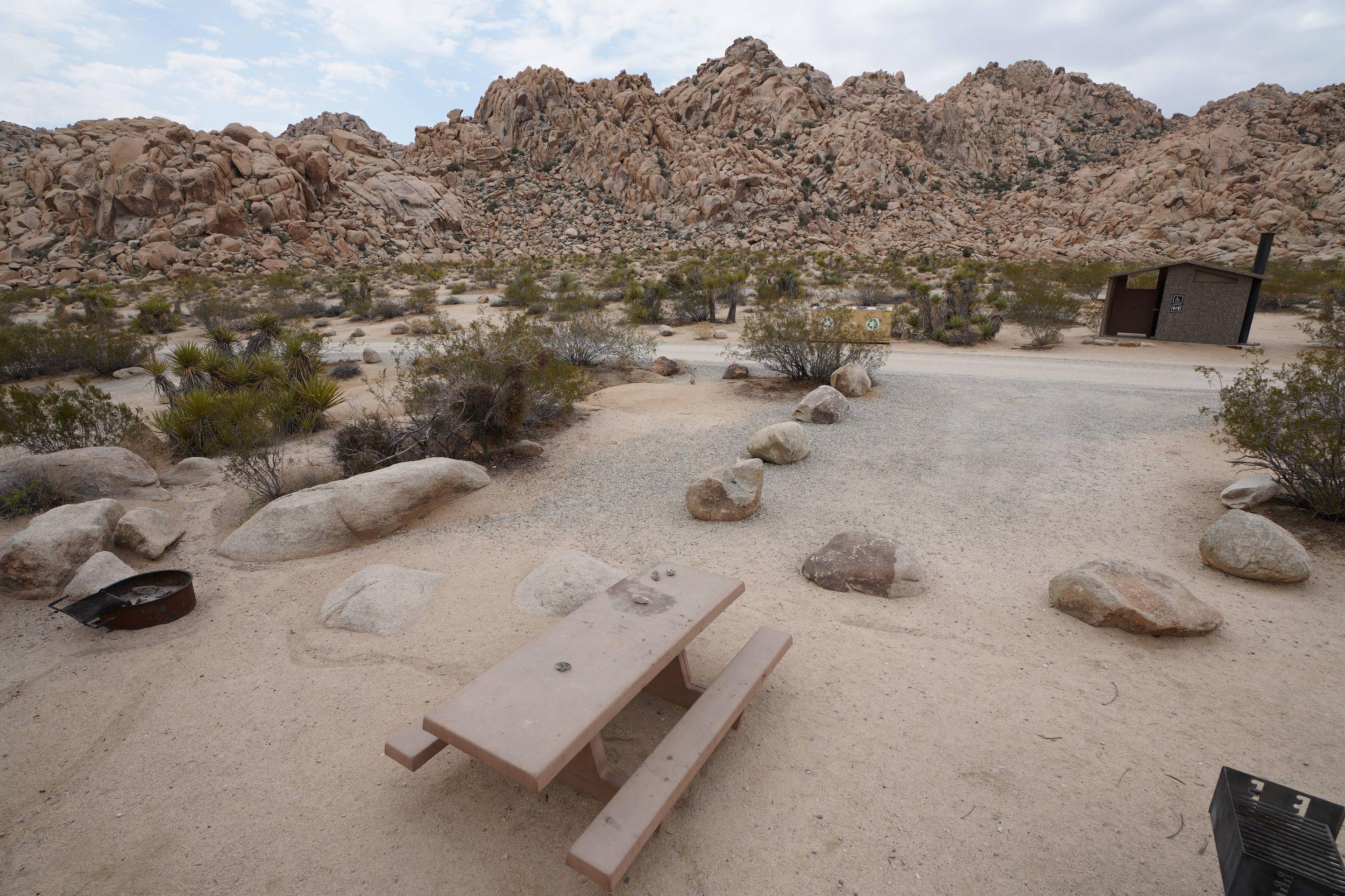 Indian Cove Site 35Near restroom