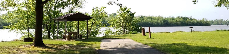Campsite A12Back-in site