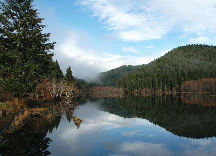 Hult Pond, OregonPhoto of Hult Pond, Oregon