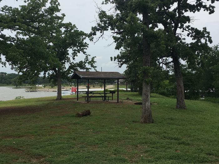 Site 28Site 28 has a small view of the Marina, and a good view of the lake. It is located in between sites 27 and 29.