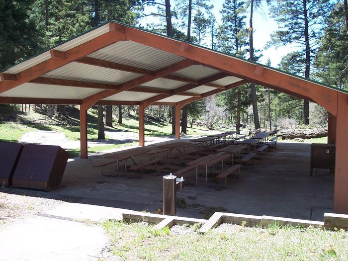Group Ramada at Upper Fir Group Area Campground