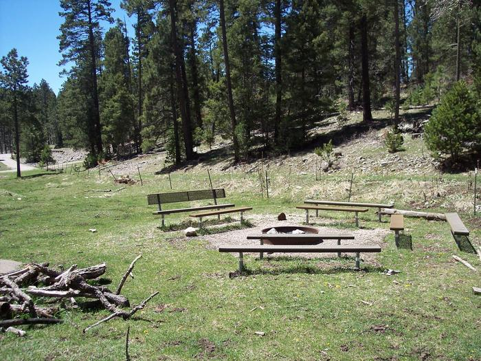 Group picnic area at Lower Fir Group Area Campground