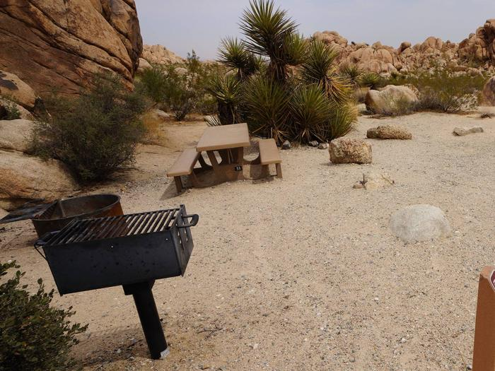 Indian Cove Site 53Another view of campsite