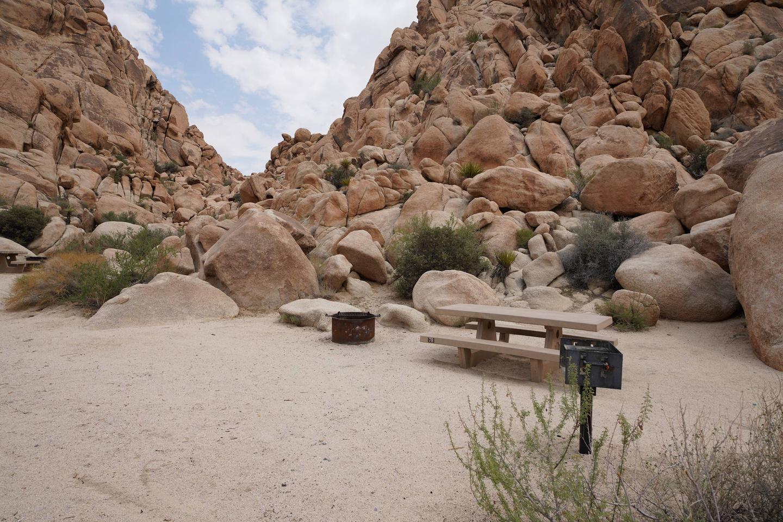 Indian Cove Site 78Campsite
