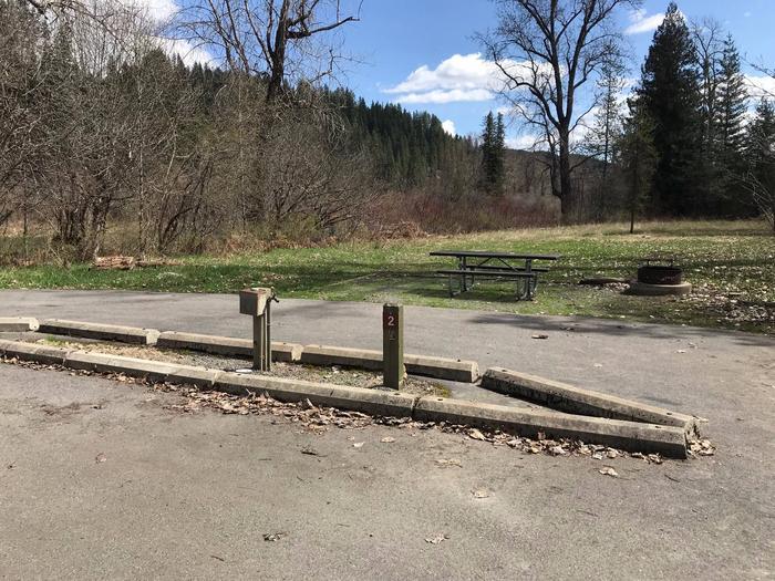 Entrance SignHuckleberry Campground Entrance