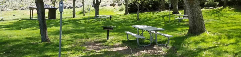 LePage Park Tent Site 13