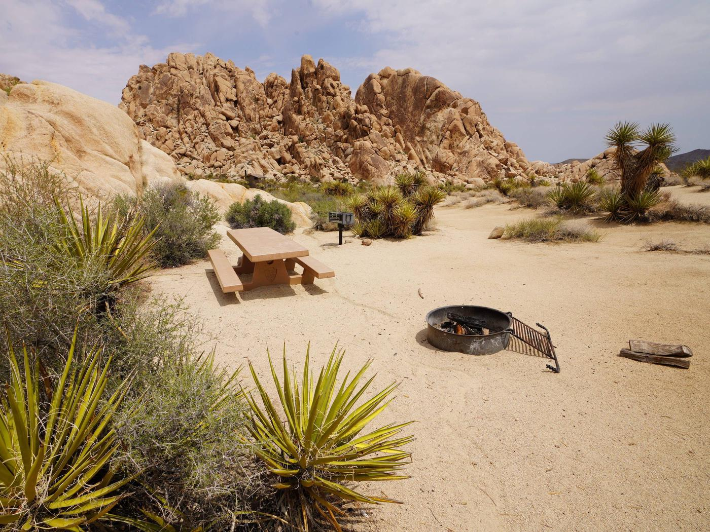Indian Cove Site 99Another view of campsite