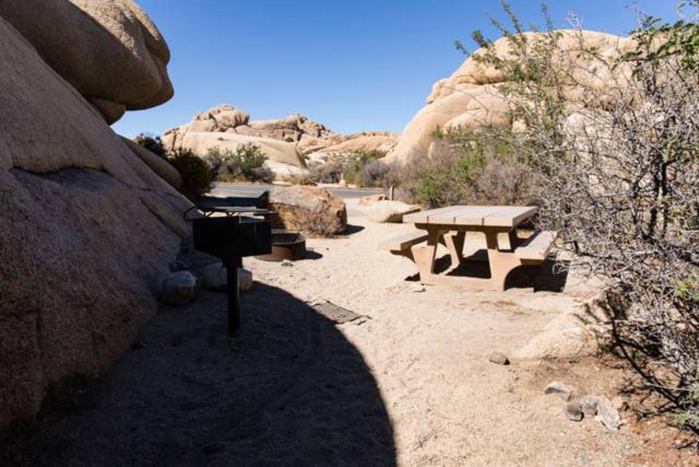 Jumbo Rocks site 3bLittle shade