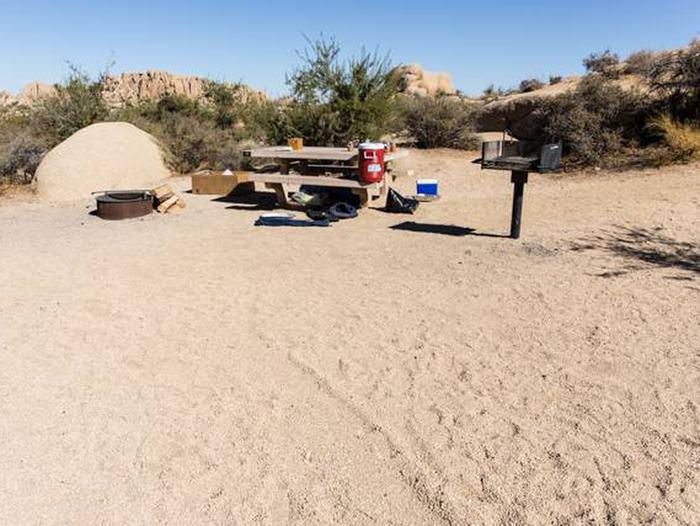 Jumbo Rocks site 19Another view of campsite