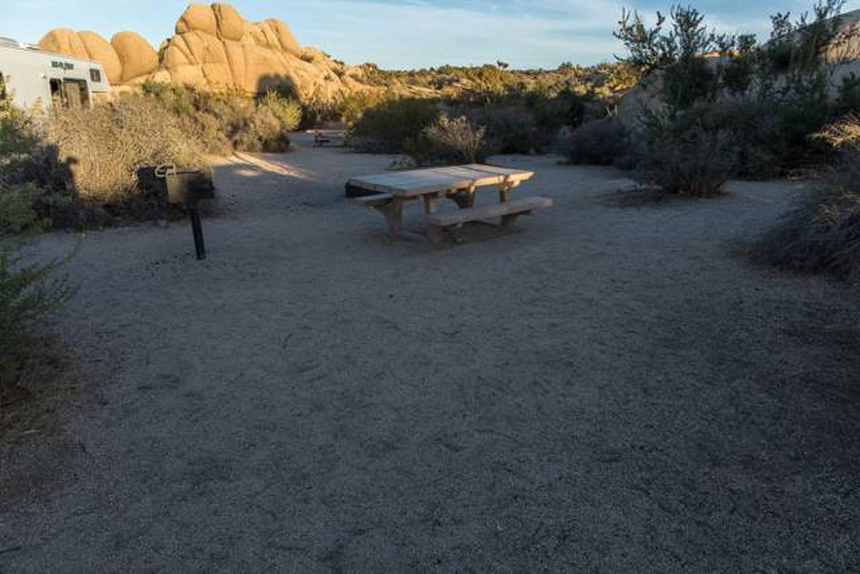 Jumbo Rocks site 57Campsite