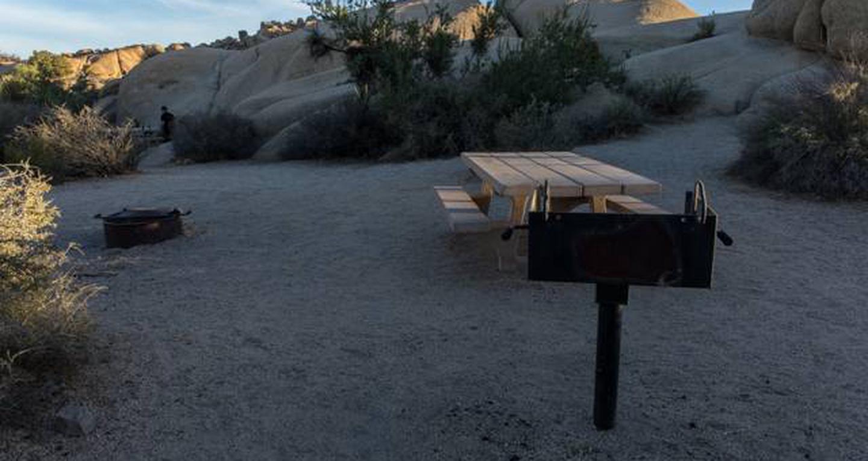 Jumbo Rocks site 57View of campsite