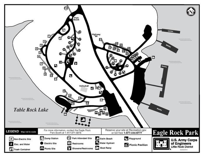 EAGLE ROCKCurrent 2019 Park Map