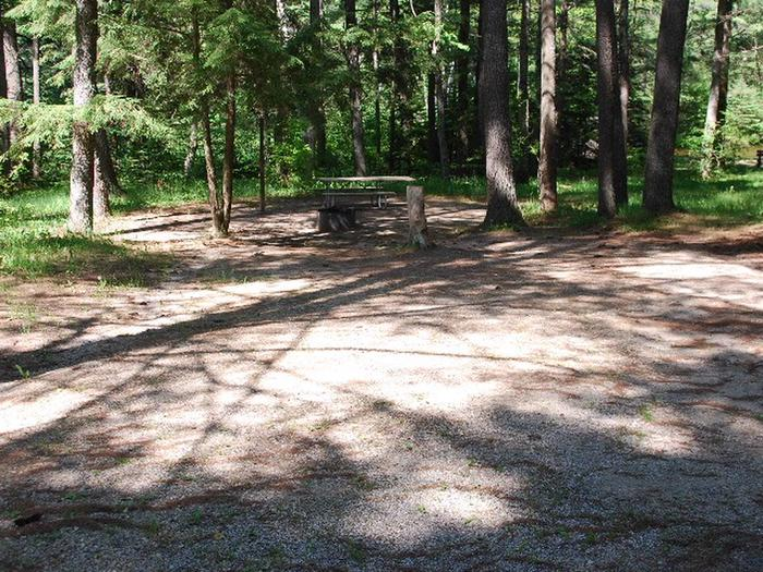 Widewaters Campground site #02