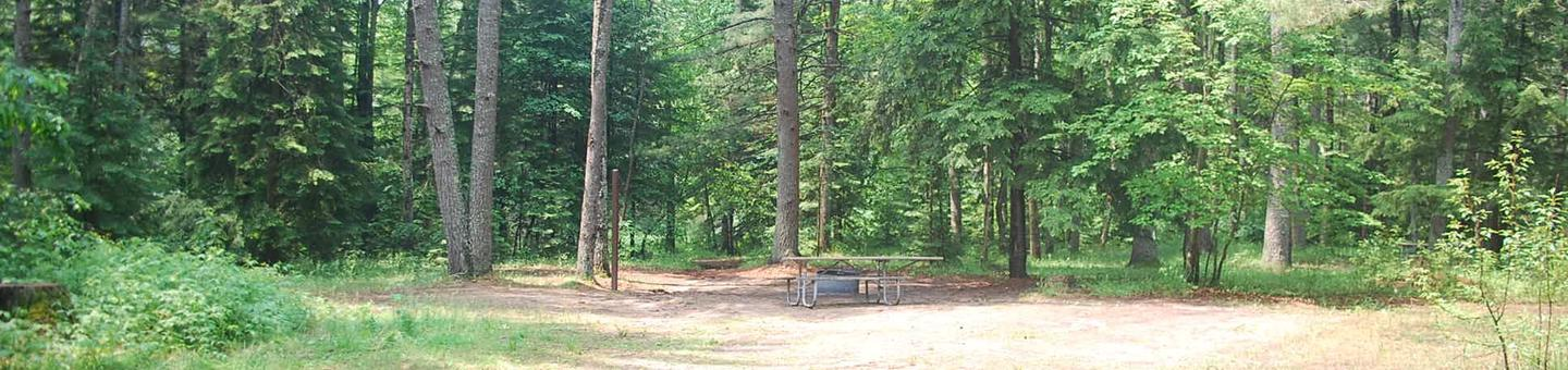 Widewaters Campground site #04