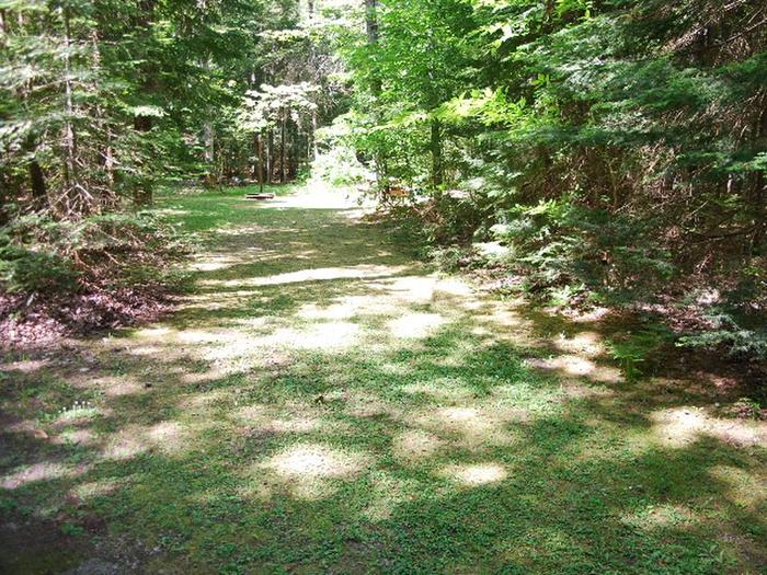 Widewaters Campground site #22