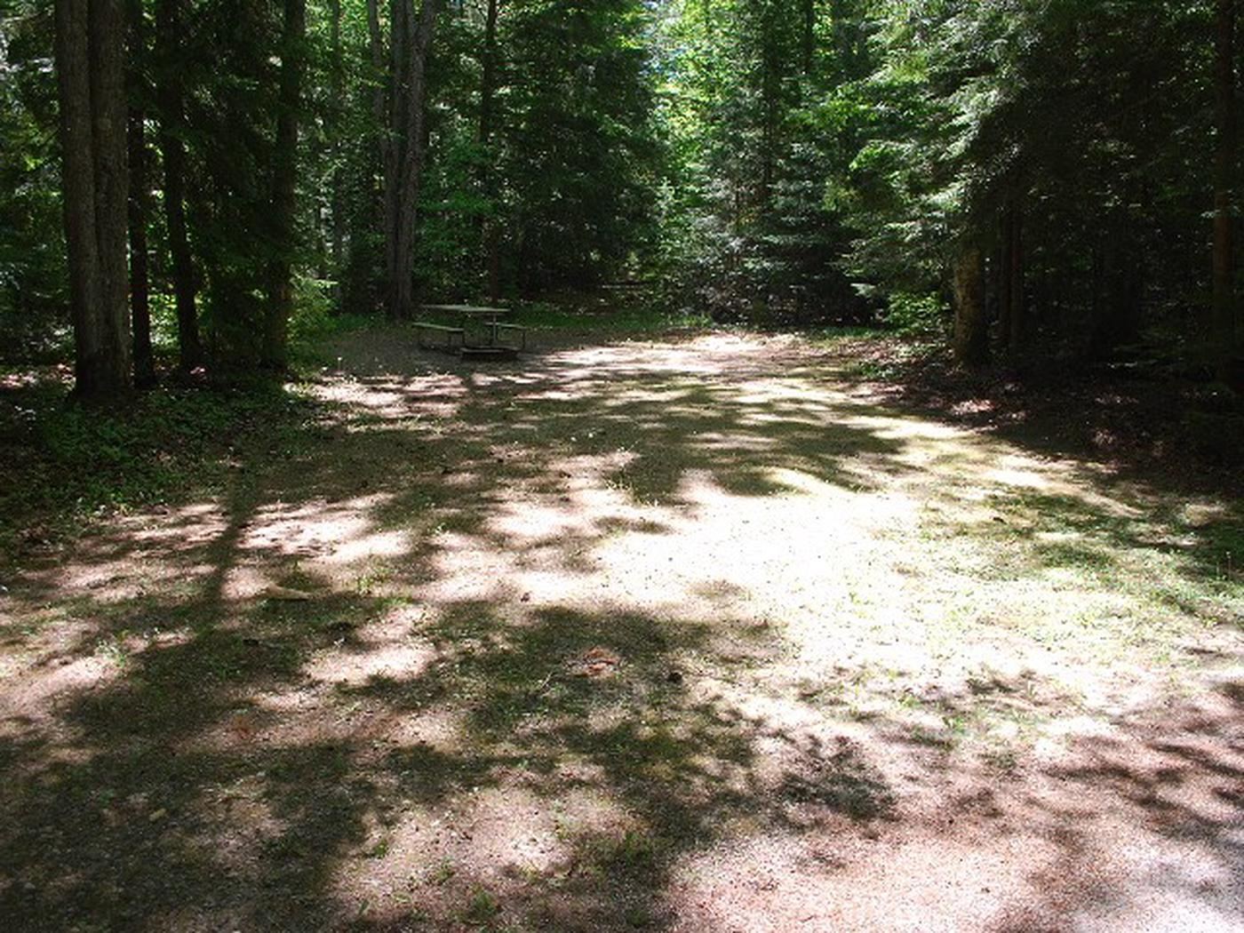 Widewaters Campground site #23