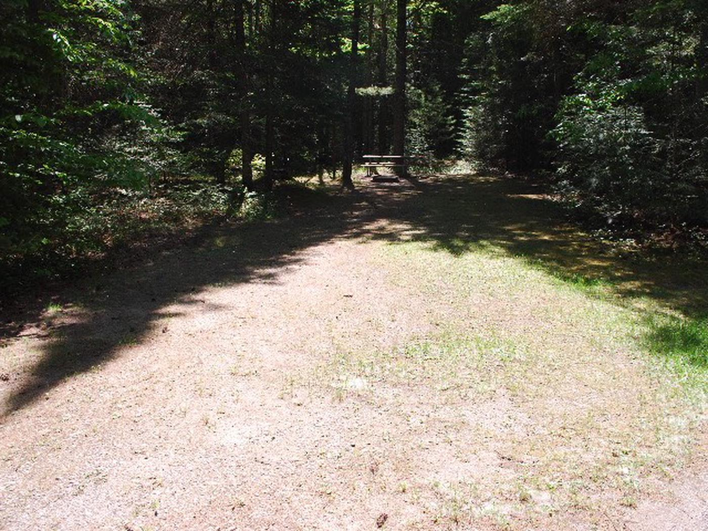 Widewaters Campground site #25