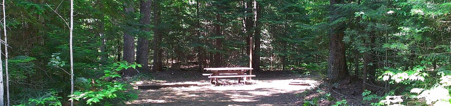 Widewaters Campground site #26
