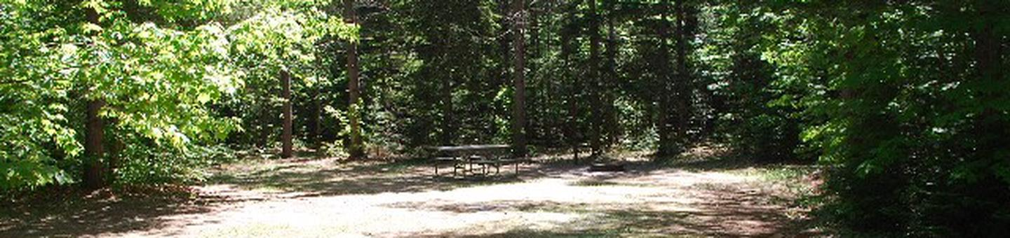 Widewaters Campground site #27