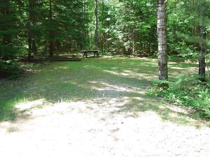 Widewaters Campground site #34